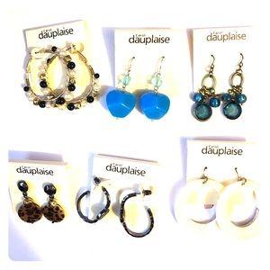 Misc. earrings $7.00 a pair
